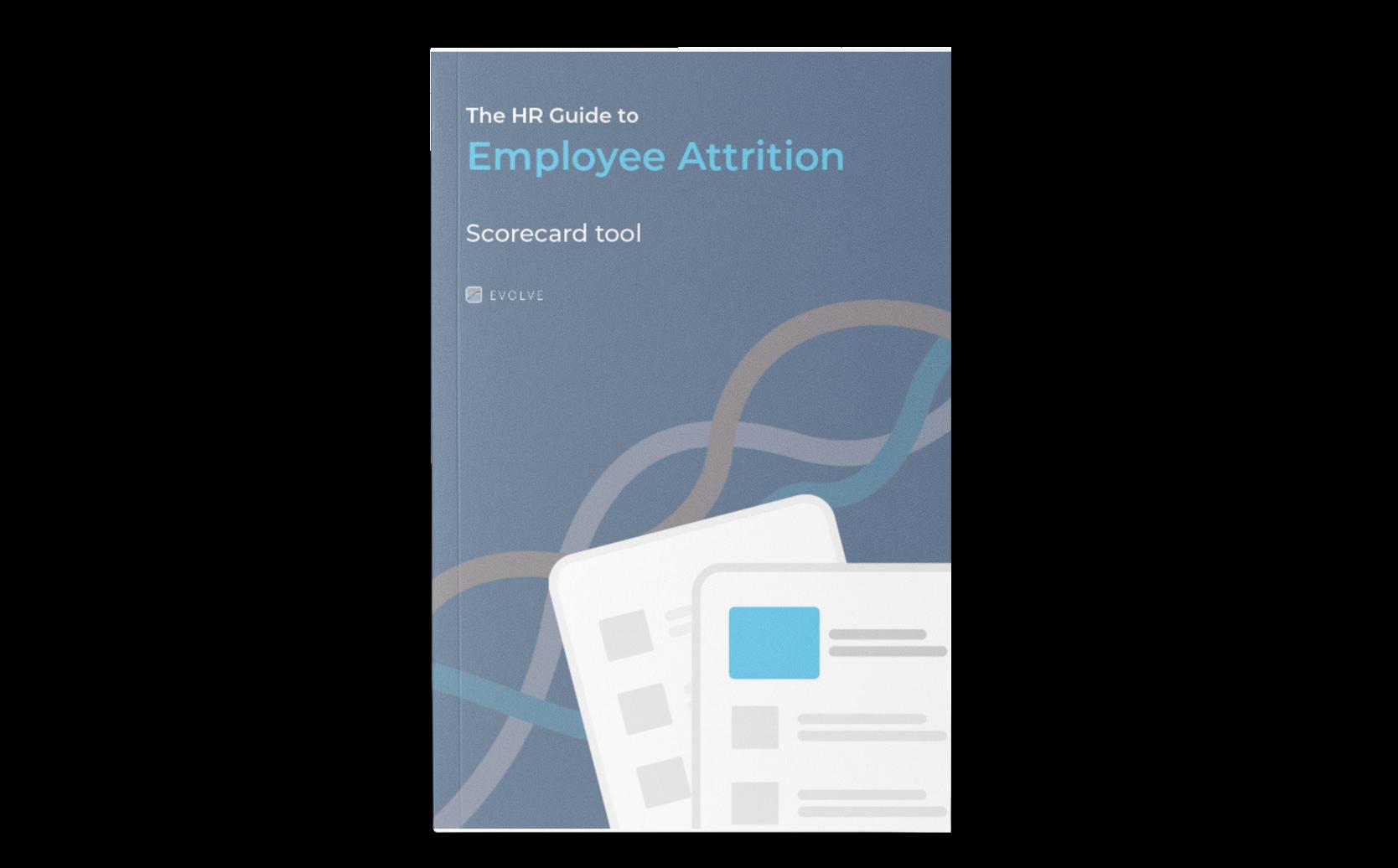 The Employee Attrition Scorecard Cover
