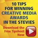 Get Our Creative Awards Tipsheet