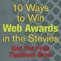 Web Awards Tipsheet Ad