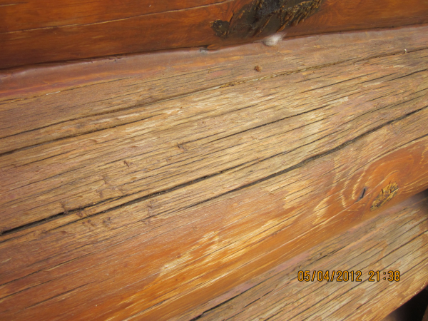 Contractor Grade Log Home Caulking
