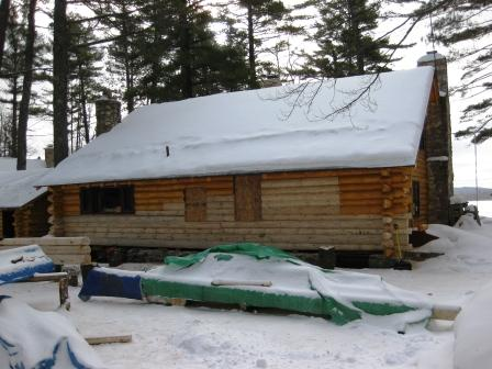 IWR Co. - Log Home Restoration Company: IWR Co. was established in 1989 by Michael Gene Denman a native of Munising, Michigan. His first experience with a log home was in 1975 when he and his father (Robert) built a log cabin right outside of Munising. After graduating high school in 1978 Mike went on to owning a logging operation until 1989.