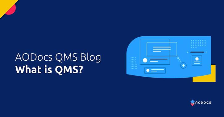 What is QMS?