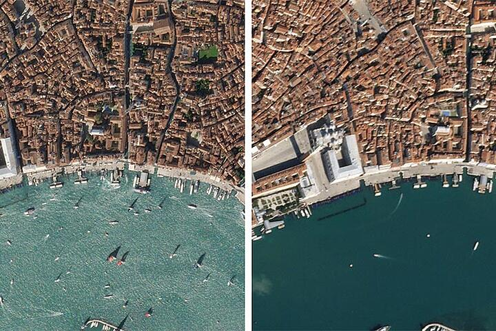 Satellite images misrepresented: How does it happen?