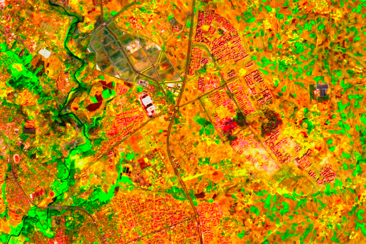 GEO-GEE project: Urban agriculture intensity with EO technology