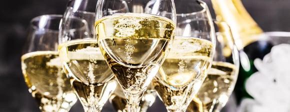4,7 Millionen Flaschen Champagner...