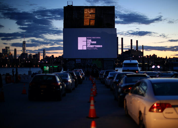 How Team SEQ Kept The Wall Street Journal's Drive-In Event Safe & Fun