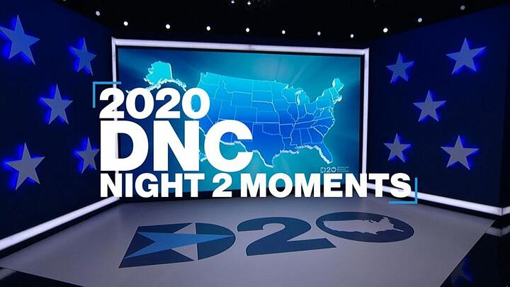 Takeaways from Night 2 of the DNC