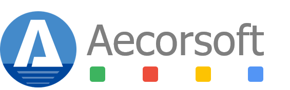 Aecorsoft Logo Transparent Background