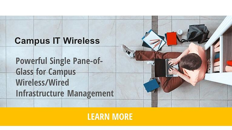 Cruz in Action: Campus Wireless/Wired IT Management Webinar