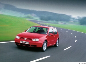 Fourth generation Golf, based the common A-platform
