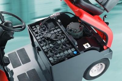 truckbatteri blysyra