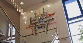 Digital Air Wireless Word Map