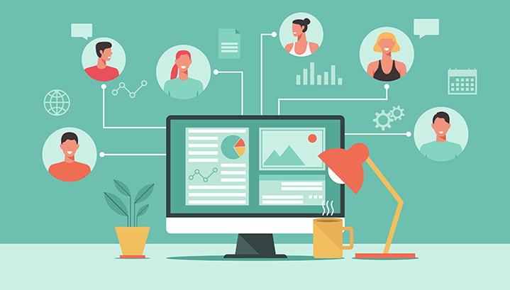 Una Landing Page per i Digital Meeting
