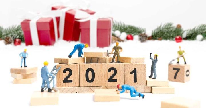 2021 in costruzione! Al lavoro tutto dicembre