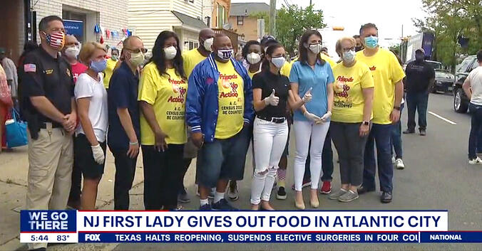 LogistiCare delivers food to residents of New Jersey amid COVID-19 pandemic