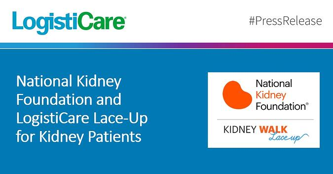National Kidney Foundation and LogistiCare Lace-Up for Kidney Patients