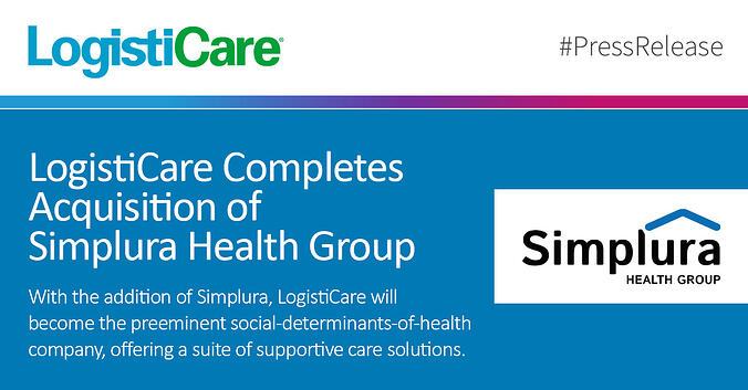 LogistiCare Completes Acquistion of Simplura Health Group