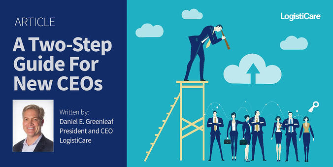 A Two-Step Guide For New CEOs