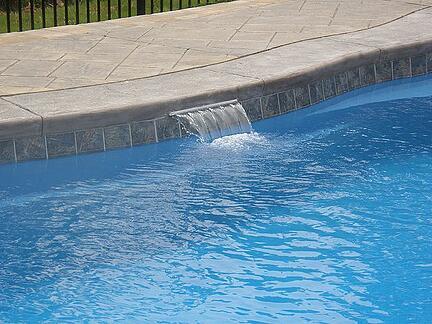 pool cascade waterfall - cheap pool accessories