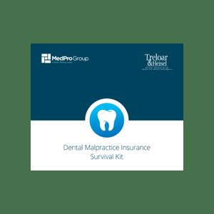 Dental Malpractice Insurance Survival Kit