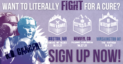 Charity Boxing Event Sign Up | Haymakers for Hope
