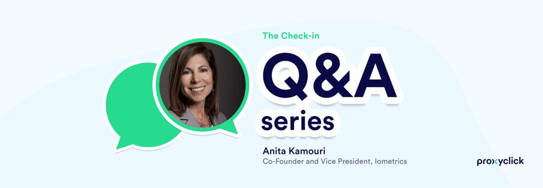Anita Kamouri Proxyclick The Check-in