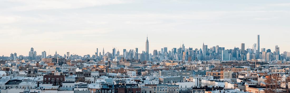 New York city buildings skyline