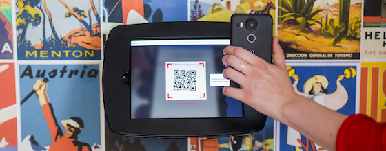 Mobile QR code access