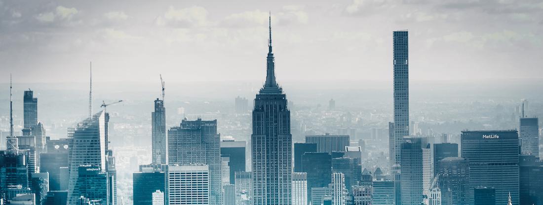 Skyscrapers New York City skyline