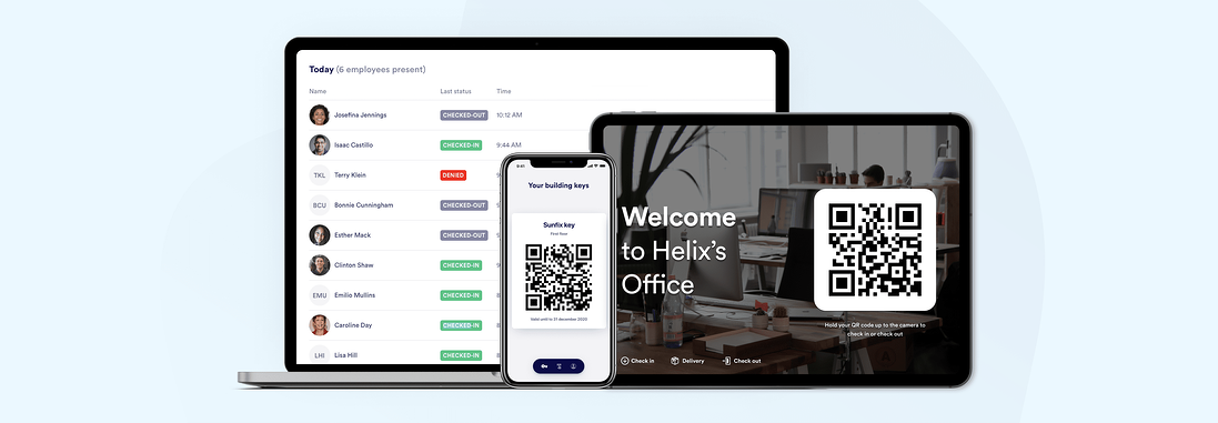 Proxyclick employee check-in features
