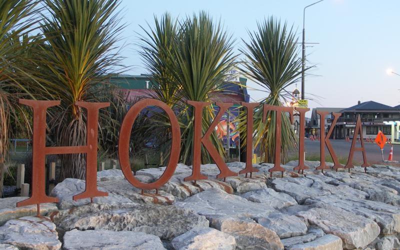 Westland city council Hokitika Sign