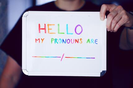gender pronouns
