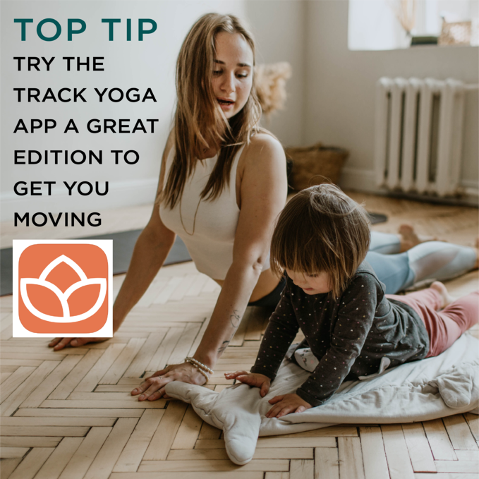 TOP TIP FOR NECK AND SHOULDER PAIN - TRY THE track yoga app