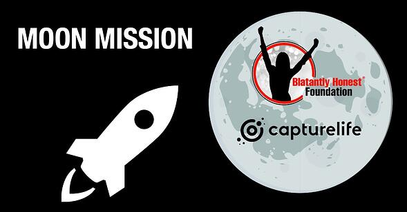 Blatantly Honest and Capturelife team up to stop bullying with the Moon Mission Project.