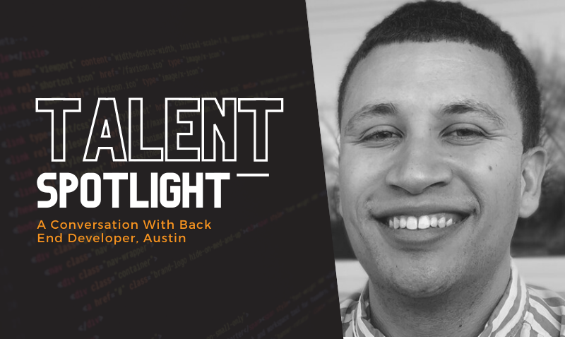 3Ci Talent Spotlight, Back End Developer