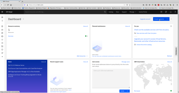 In 5 easy steps – Create a Kubernetes cluster on IBM Cloud