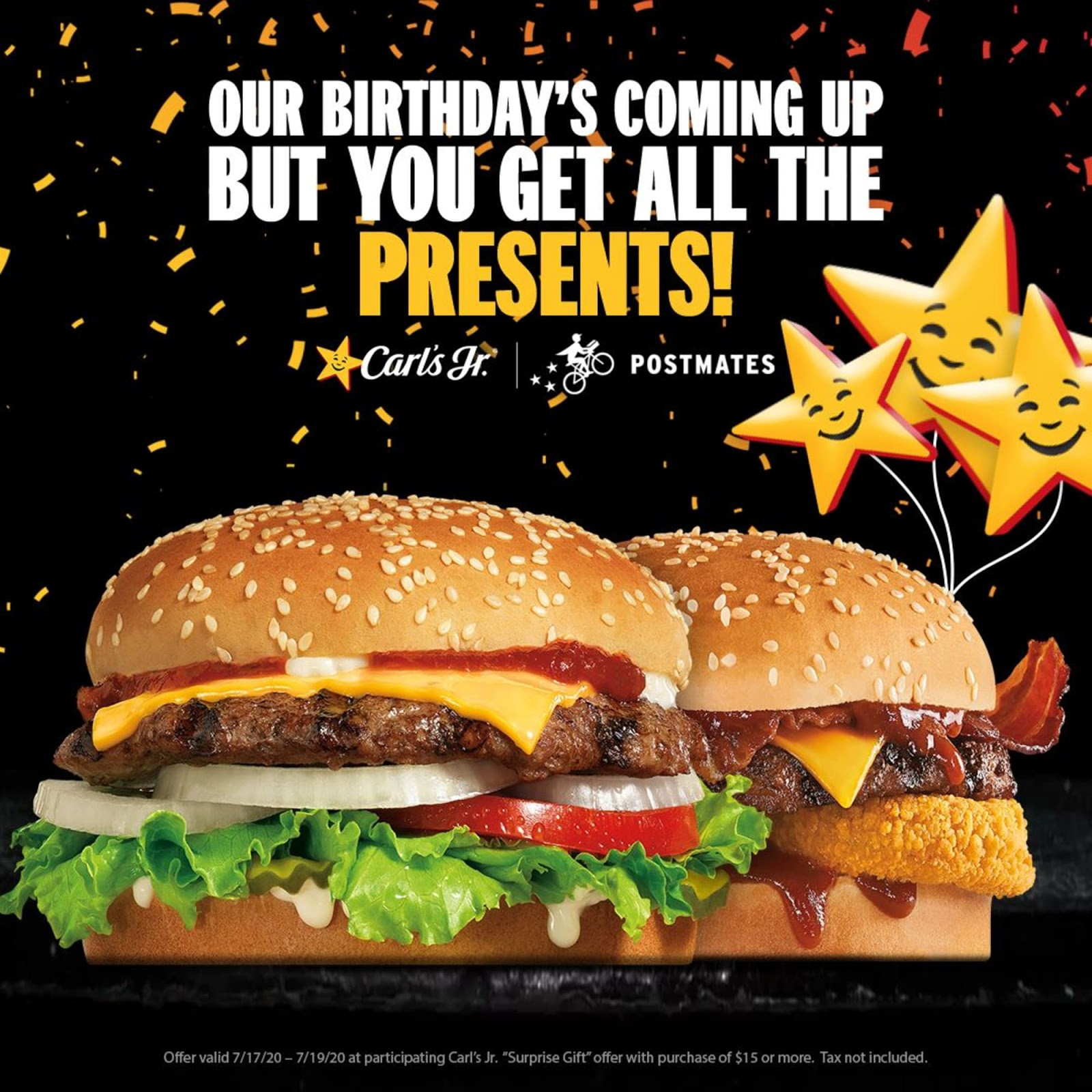 Carl's Jr's 79th Birthday Promotion