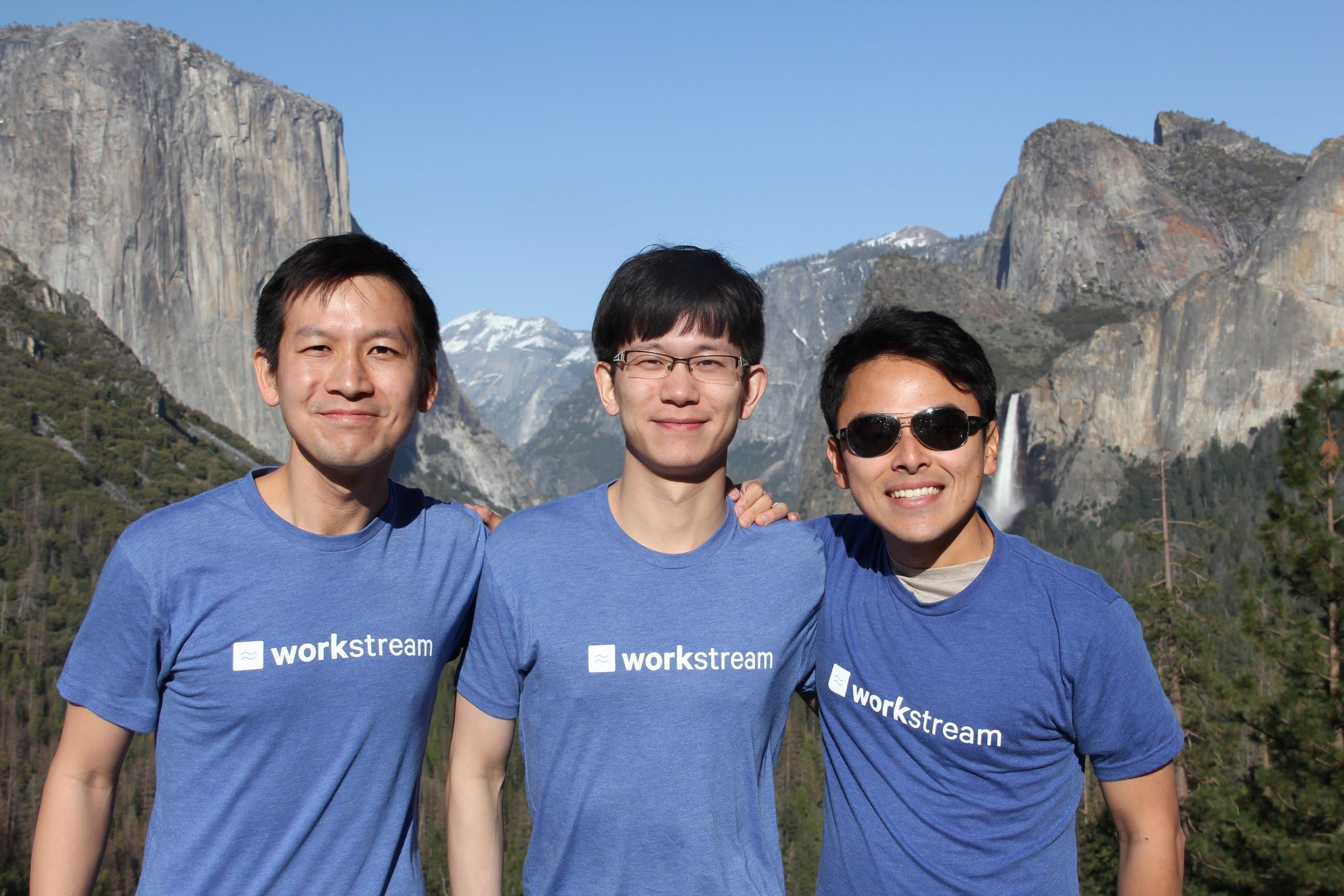 workstream founders desmond lim max wang and lei xu