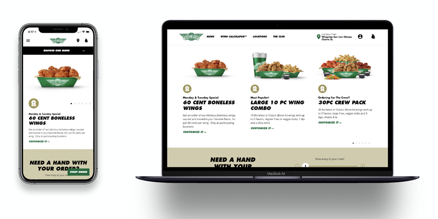 Wingstop digital transformation success through mobile ordering and ghost kitchens