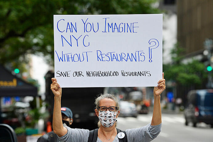 News updates on NYC without restaurants due to coronavirus restrictions