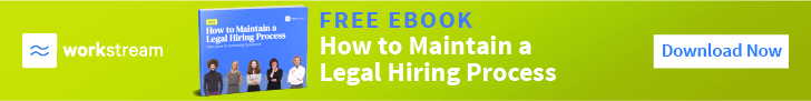 how to maintain a legal hiring process
