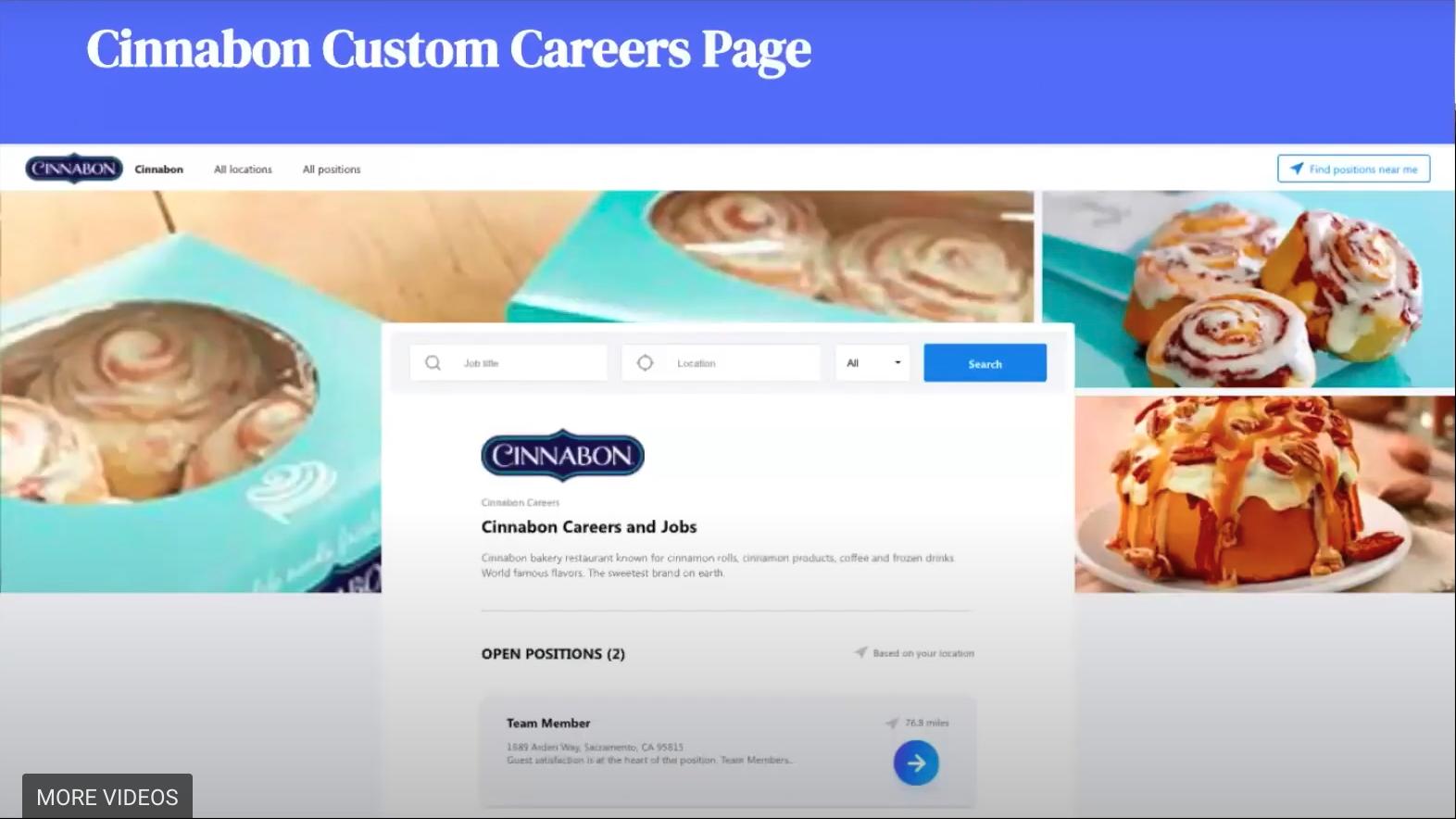 cinnabon careers page