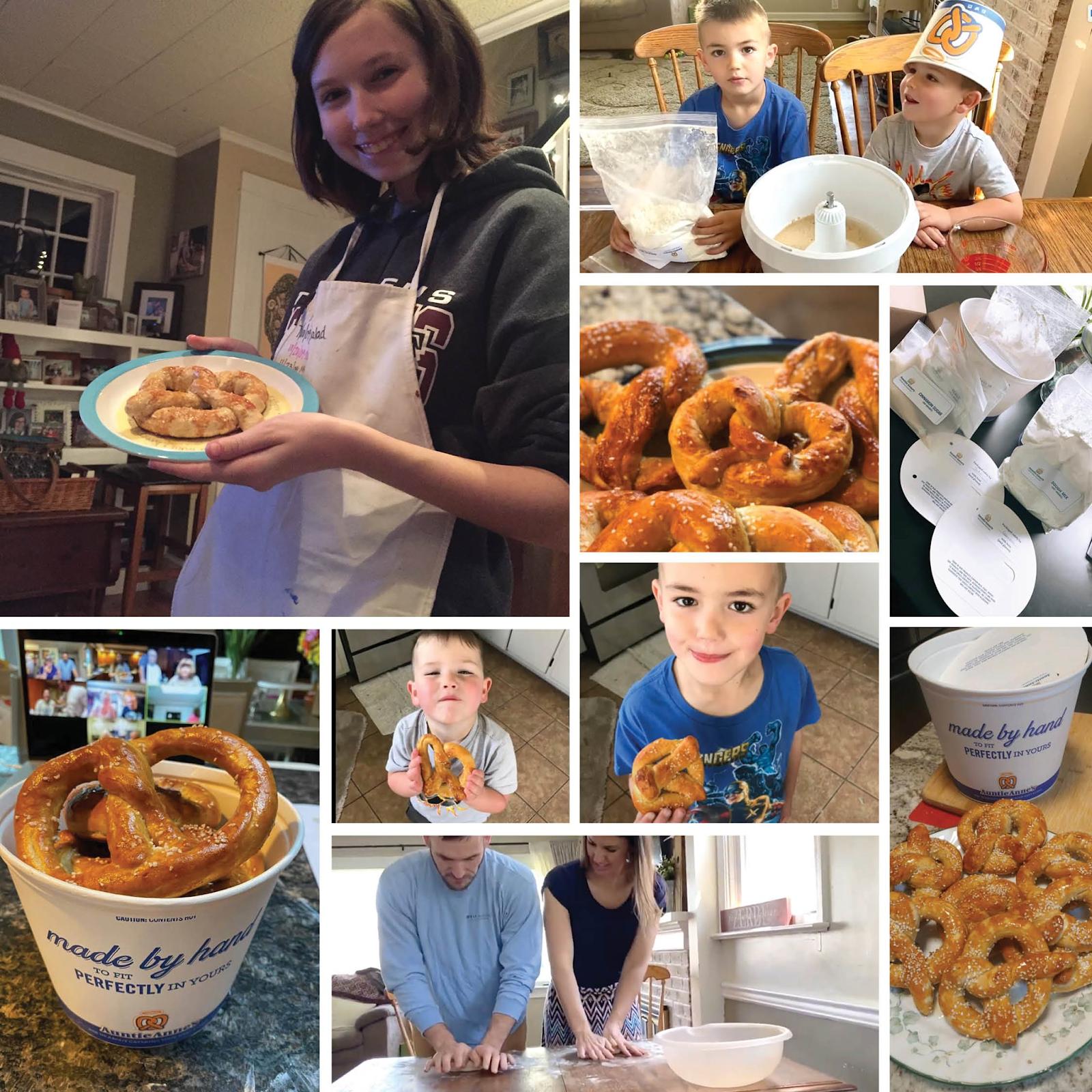 make your own pretzel