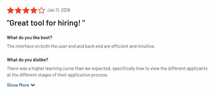 snagajob job board review