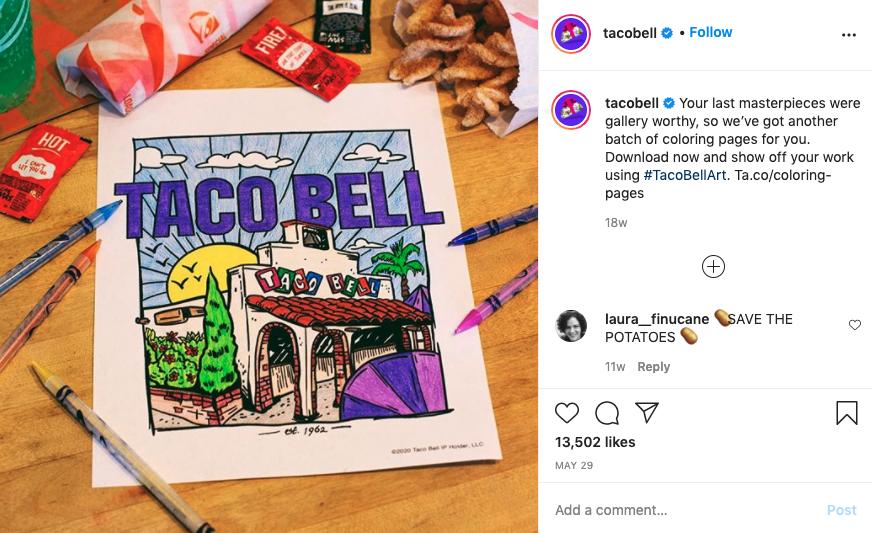 taco bell social media campaigns