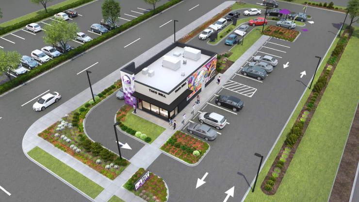 Future drive-thru design of quick service restaurants