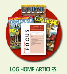 log home articles