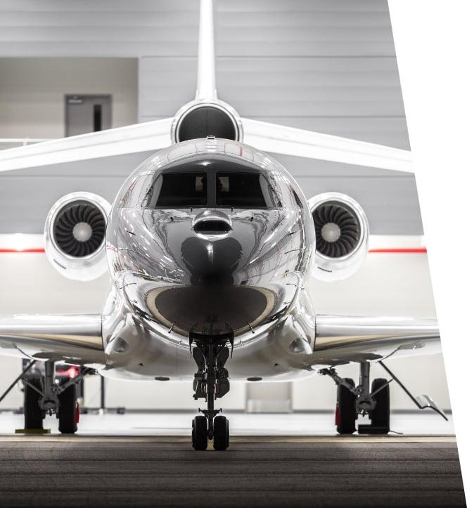 private aircraft financed via lease