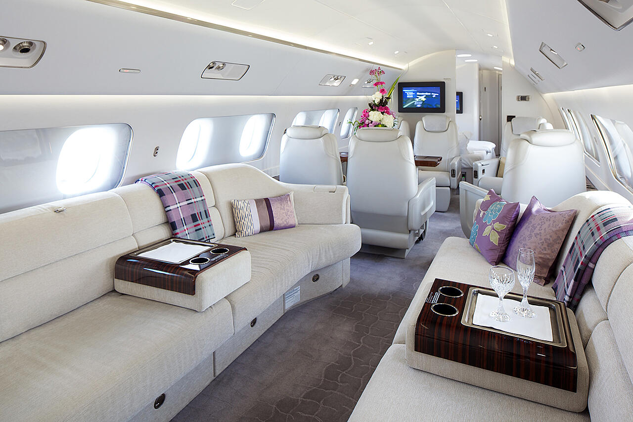 Stocks et ventes d'appareils privés d'occasion | Global Jet Capital