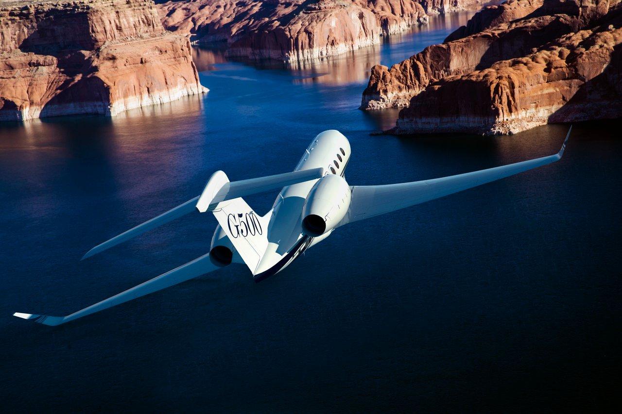 Gulfstream G500 Aerial 05